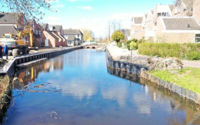 Oplevering De Ligger en De Loper, Sneek, Nederland