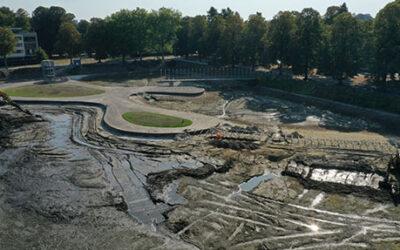 Kromhoutpark, Tilburg, Nederland